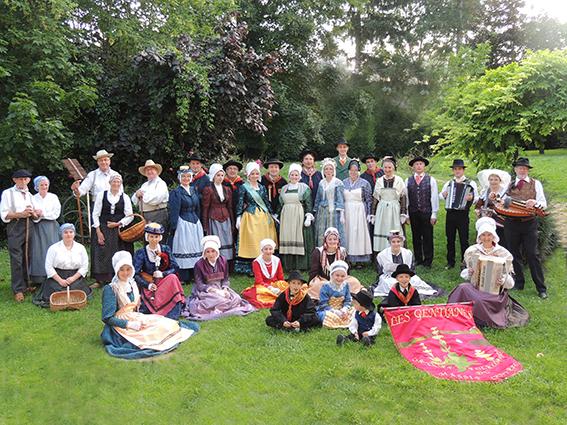 Groupe folklorique LES GENTIANES