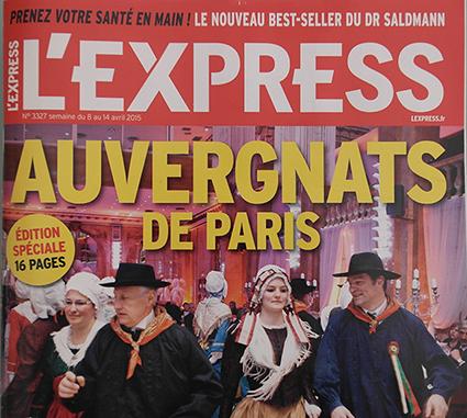 Les Gentianes à la une de l'Express