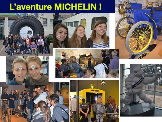 les Gentianes en visite au musée MICHELIN