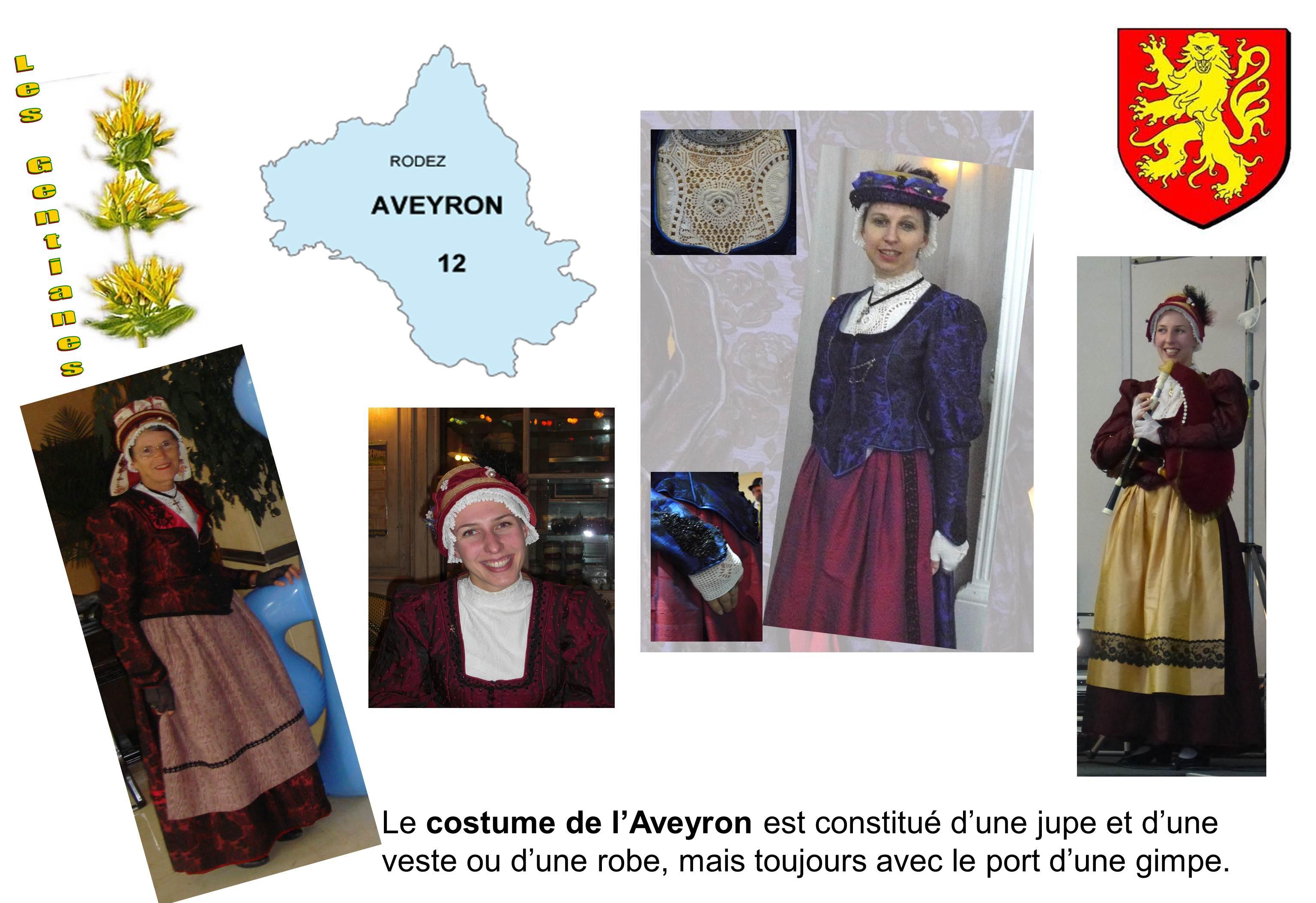 costumes de l'Aveyron
